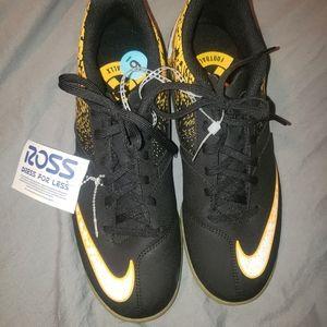 NIKE BOMBAX IC Indoor Soccer Shoe Laser Orange